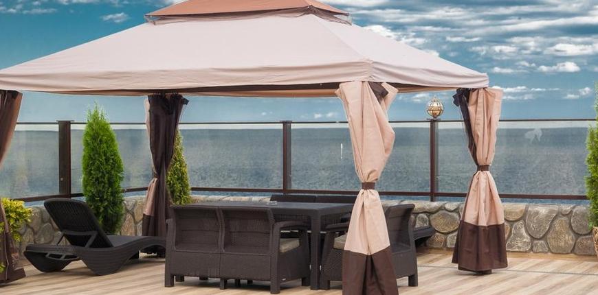 Отель на ЮБК на берегу моря