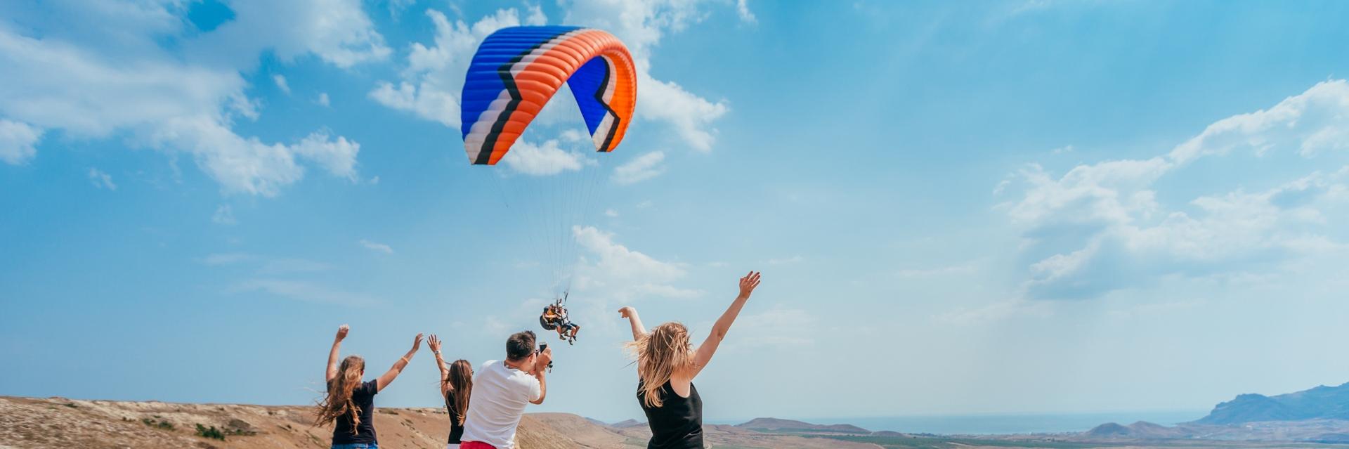 Активные развлечения во время тура выходного дня в Крыму